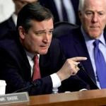 Senator Ted Cruz questioned James Clapper and Sally Yates during a hearing Monday on Russian interference.